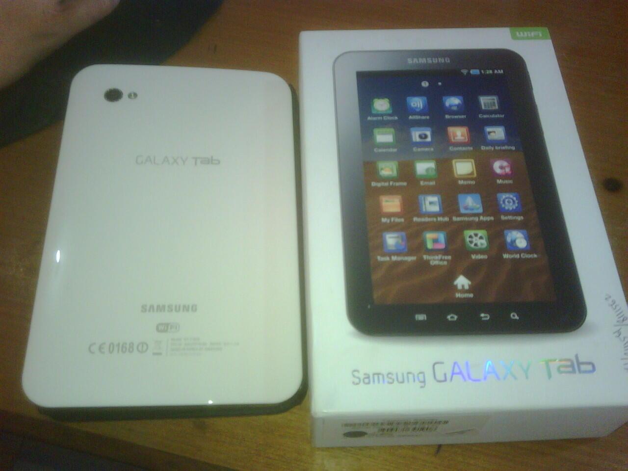 Samsung Galaxy Tab P1010 (WiFi Only) masih garansi + ZTE MF30