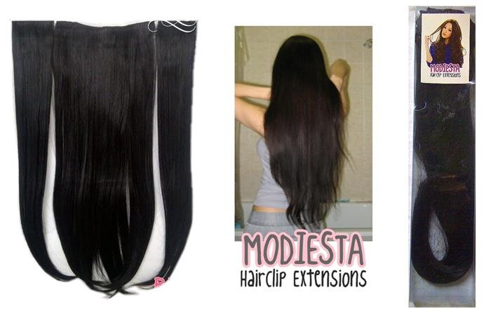 Modiesta Hairclip Extensions (NEW) SMS 08561082277