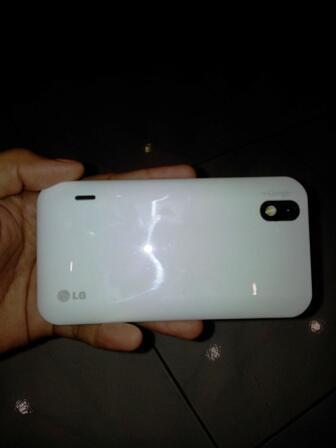 LG Optimus White P970 mulusssss murahhhhh