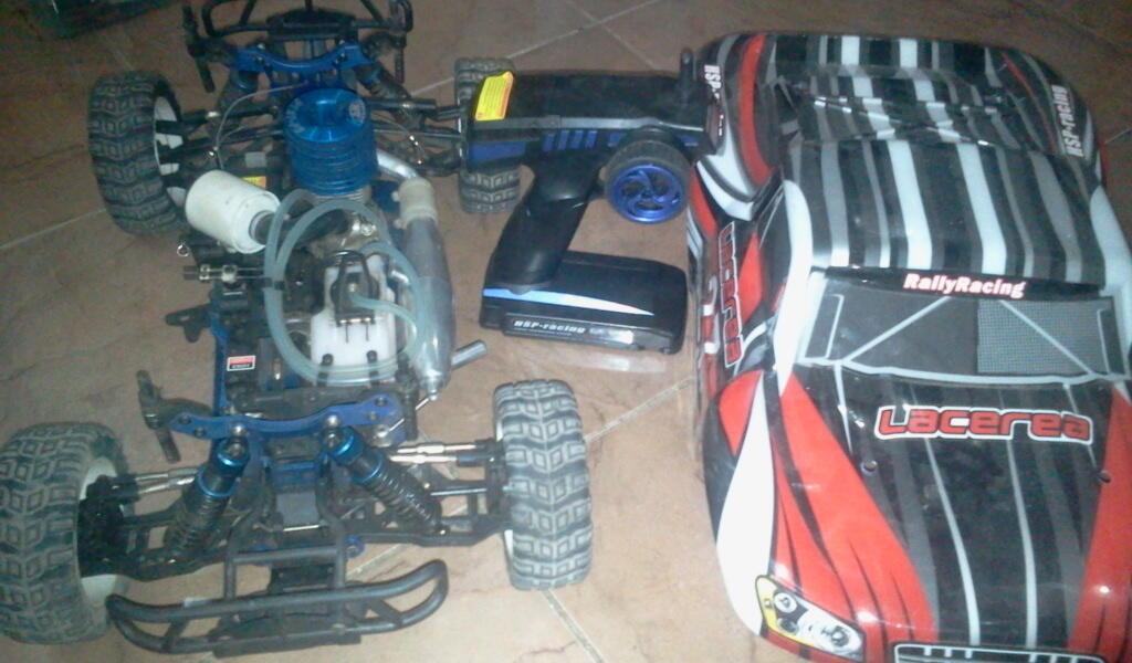 Rc car hsp nitro dan elektrik