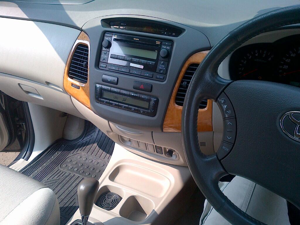 Innova Diesel V A/T 2009 Dark Grey - Superb Condition
