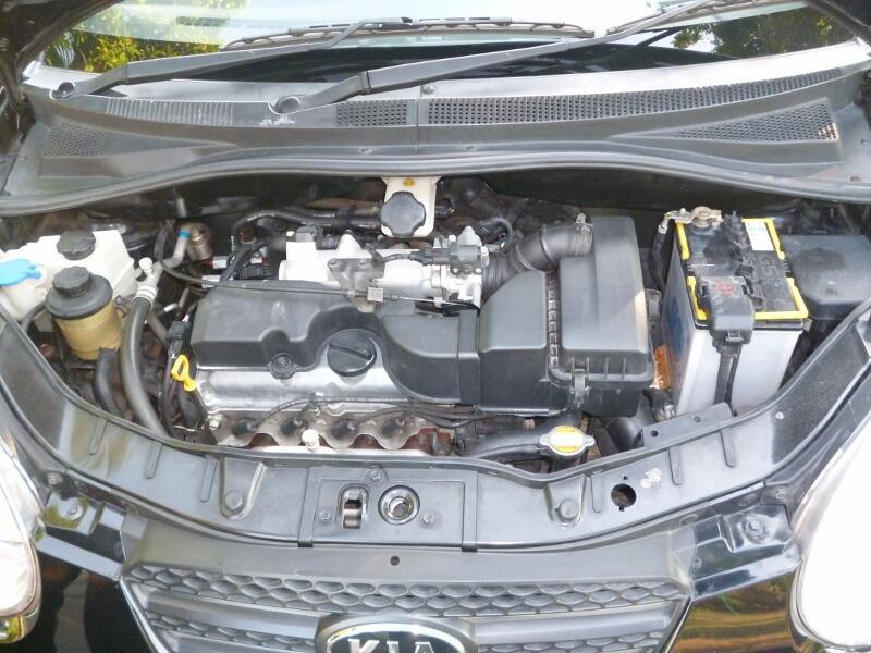 KIA Picanto 2009 Black M/T - Top Condition