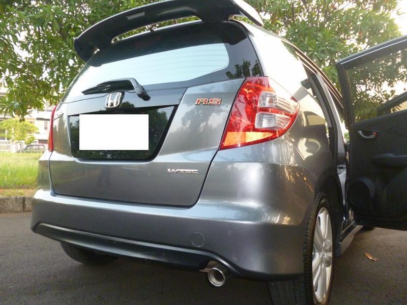 Honda Jazz RS A/T 2010 Dark Grey - Like New