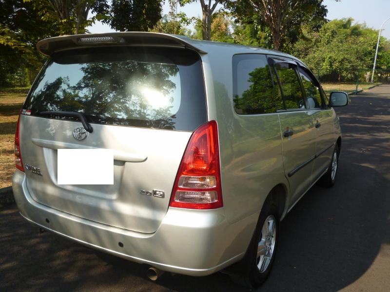 Kijang Innova Bensin G M/T 2007 Silver - Ready To Use