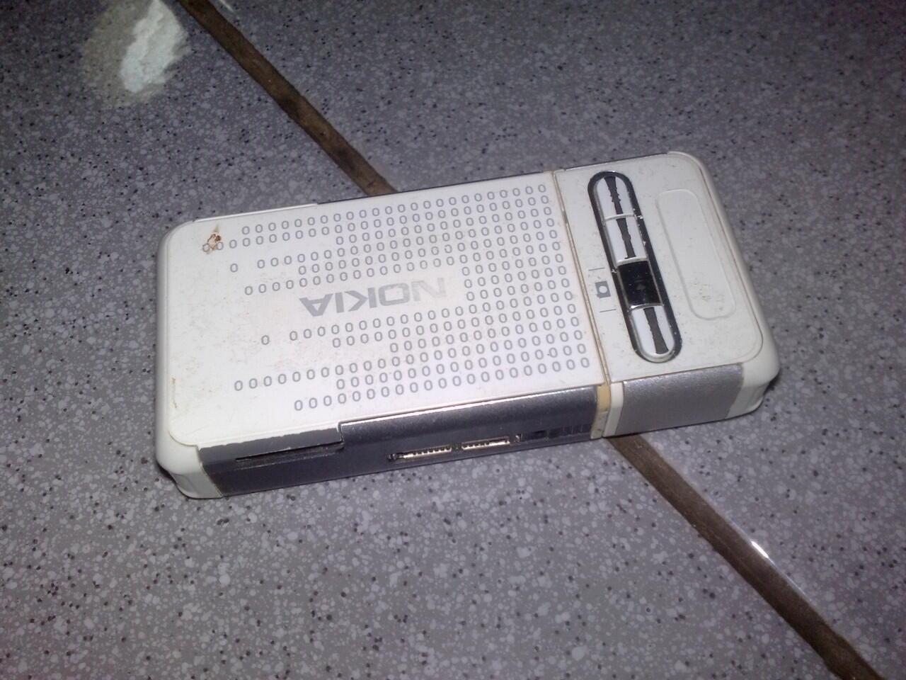 Nokia 3250 XM apa adanya
