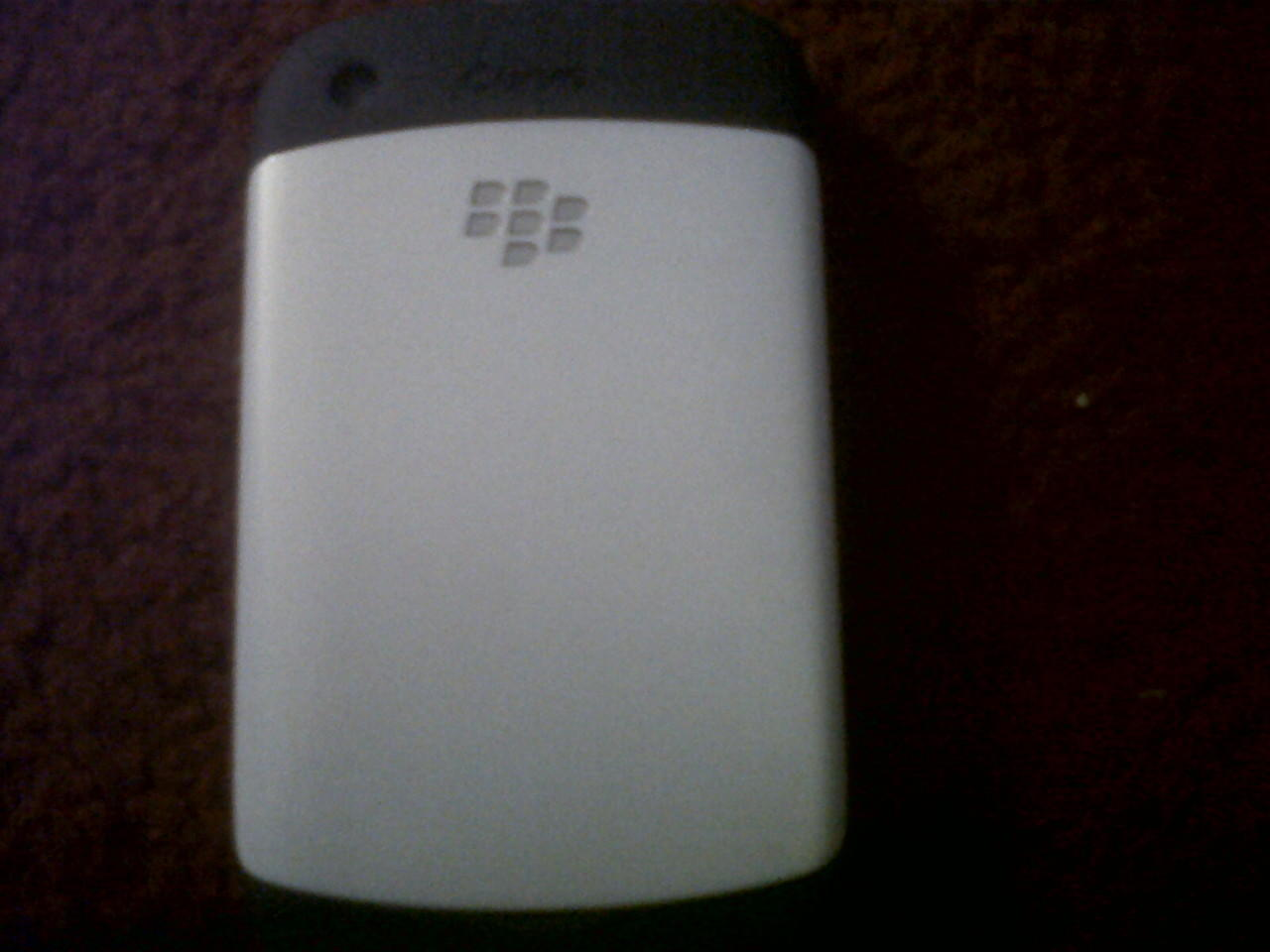 BLACKBERRY gemini white second jakarta