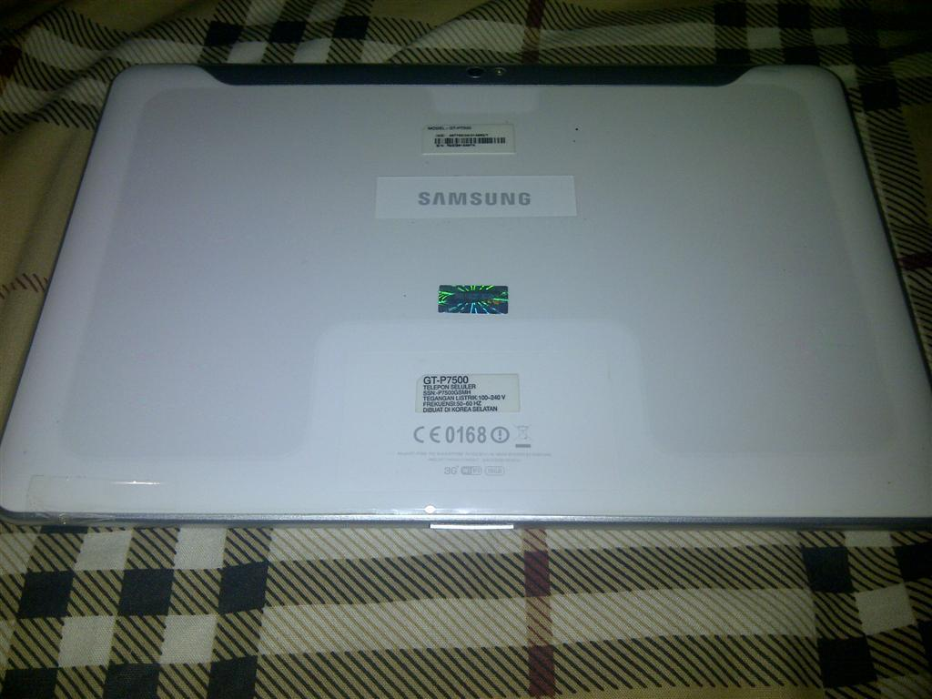 WTS Samsung Galaxy Tab 10.1 16GB (P7500) MURAH 99%MULUS