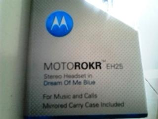 WTS Headset Jack 3,5mm Motorola Motorokr EH25 New