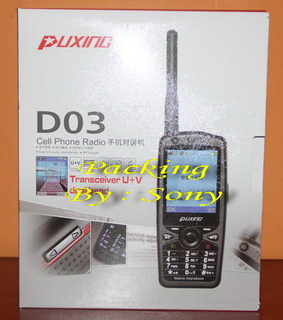 Puxing HP 2 Sim Card + HT Dual Band