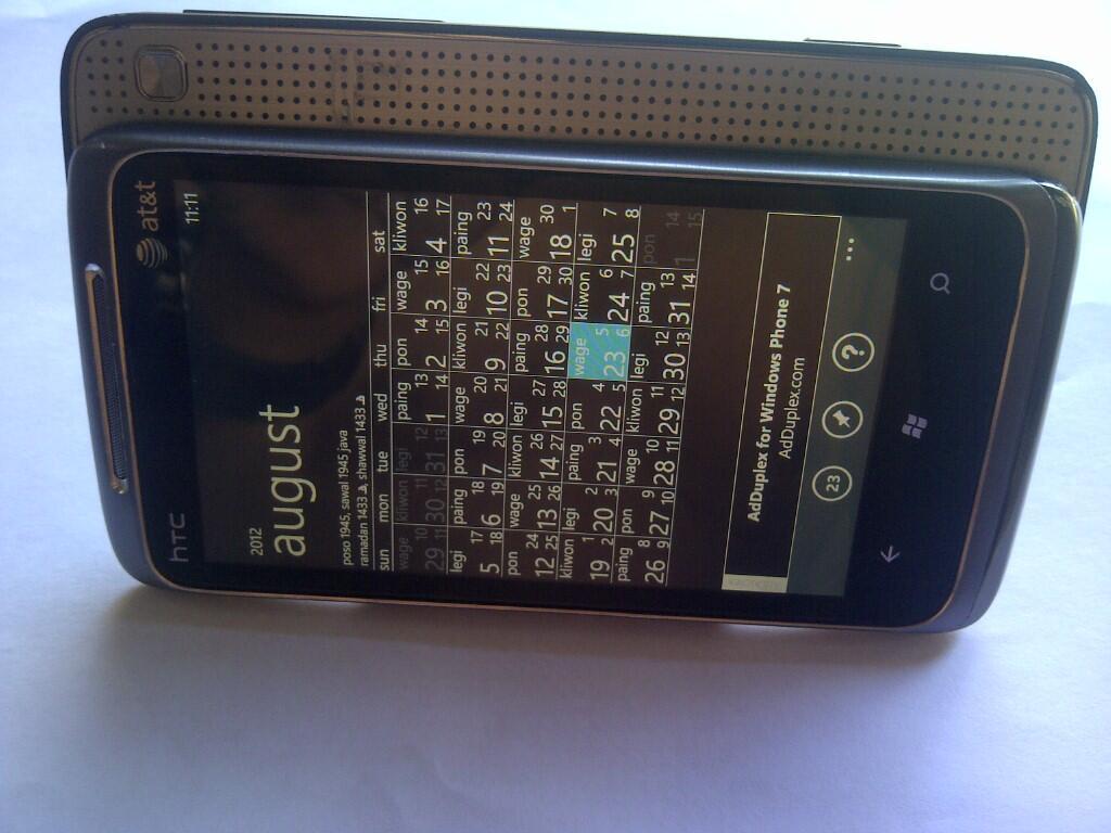 HTC 7 SURROUND | WINMO 7.5 | GSM