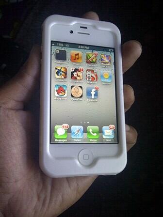 IPHONE 4S 16GB WHITE BATANGAN BEST OFFER