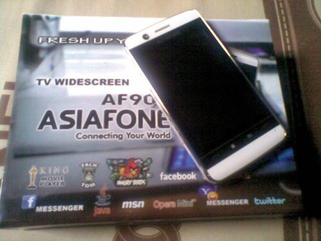 Asiafone AF-909, dual GSM-touchscreen-mulus abiss