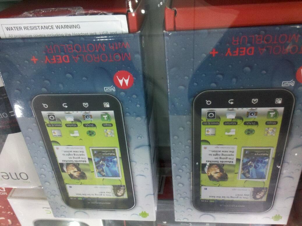 JUAL Motorola Defy+ MB526 {READY 2 BUAH, NEW BNIB GREY BLACK}