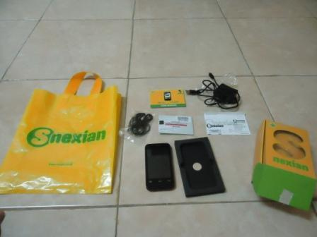 S Nexian Cronos Mi320 Android