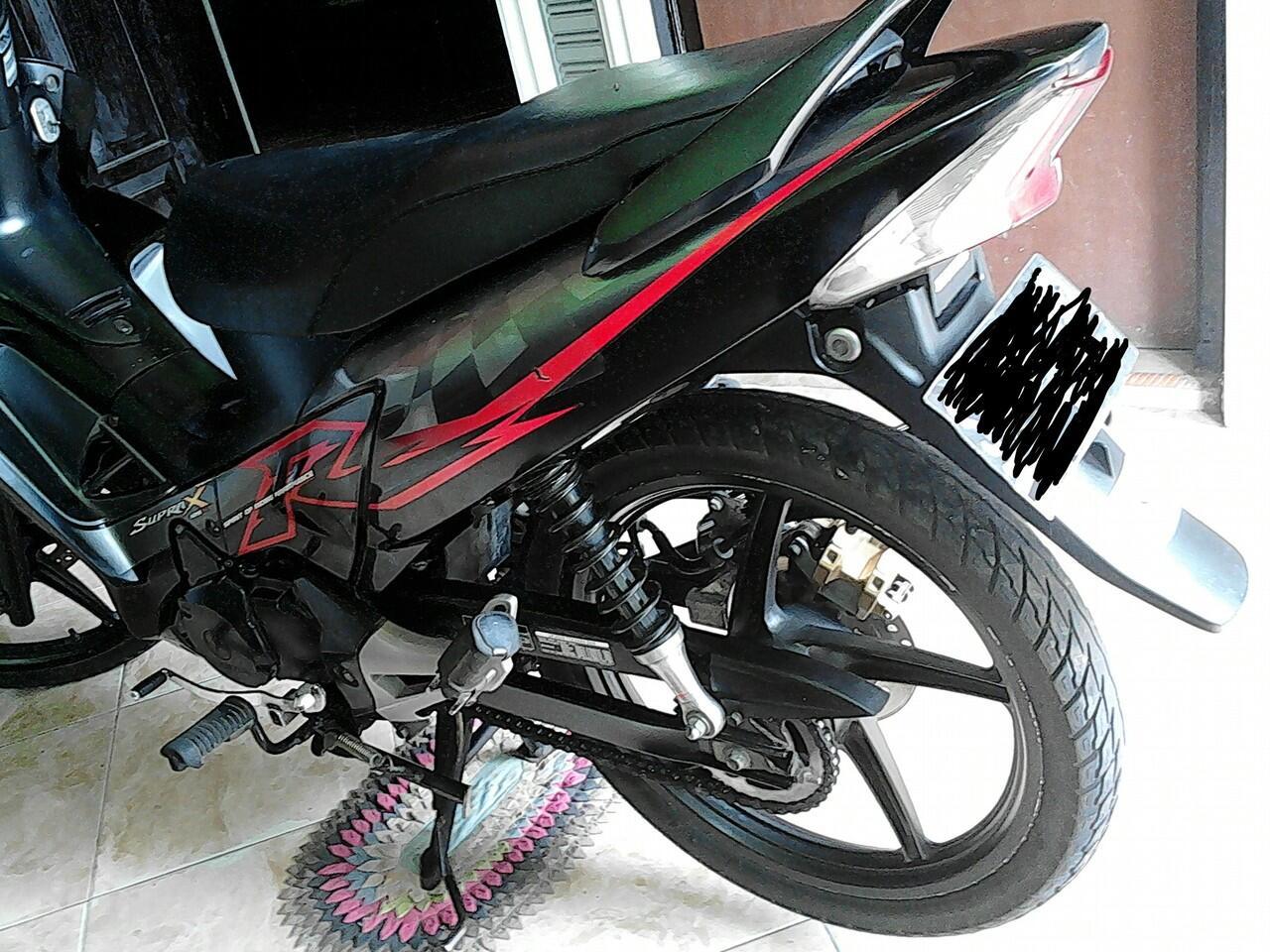 Honda Supra X 125 2009 Hitam Mojokerto
