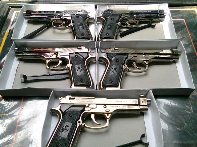 Korek Api 99% Mirip Pistol PIETRO BERETTA Murah
