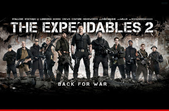 DVD The Expendables 2, The Dark Knight Rises, The Bourne Legacy, Diary of a Wimpy Kid