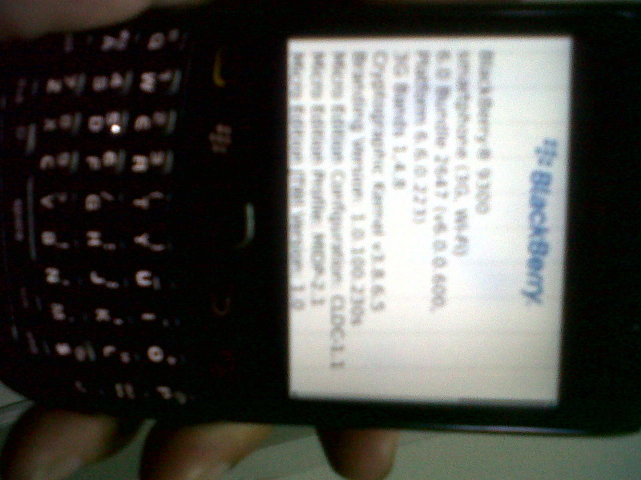 Blackberry Gemini 3g 9300 Keppler MURMER