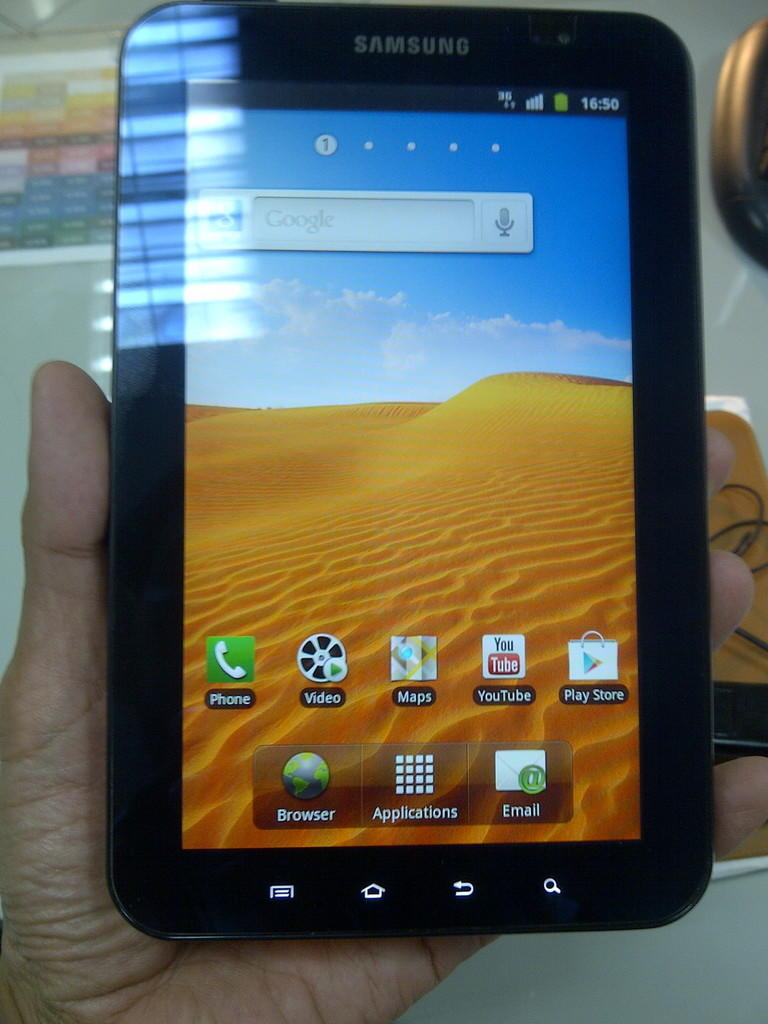 Jual Galaxy Tab P1000 mulus & terawat