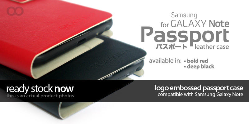 Passport Case for iPhone 4/4s and Samsung Galaxy Note