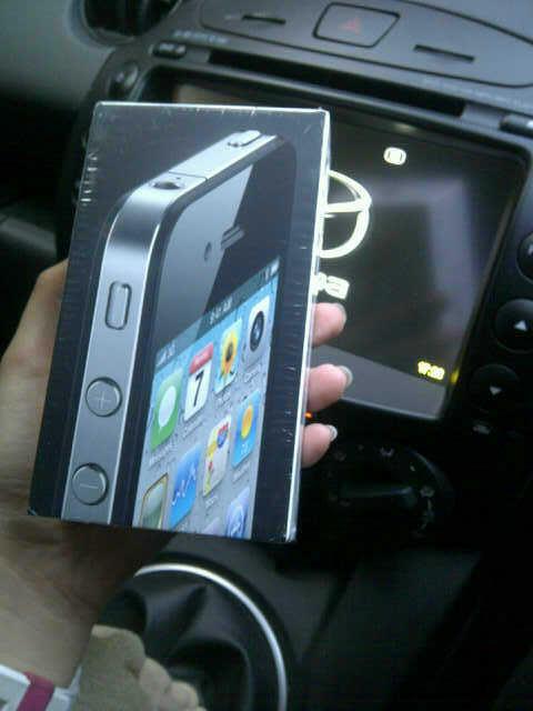 IPHONE 4G 16GB BLACK NEW