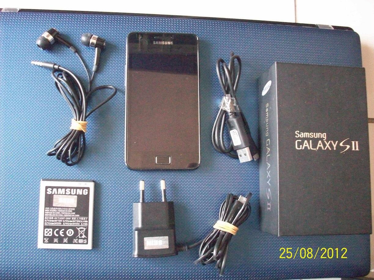 Samsung Galaxy S2 hitam murah fullset (Surabaya)