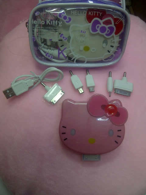 Wts : Power bank hello kitty