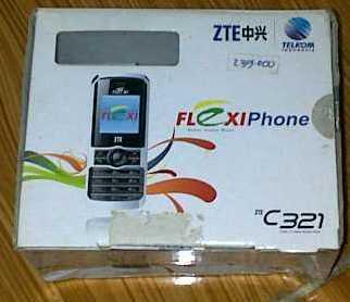 Dijual HP ZTE FlexiPhone C321 Bisa Untuk Flexi & Esia (2nd)