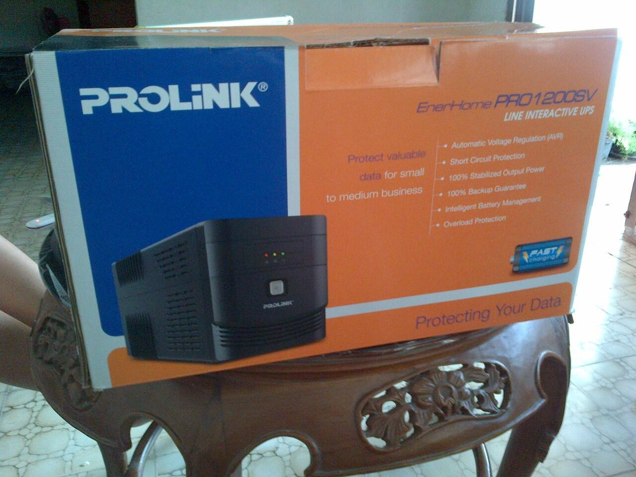 [Repost] UPS Prolink 1200SV - Jogjakarta