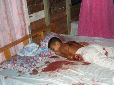 satu keluarga tiwas smuwaa.. :berduka