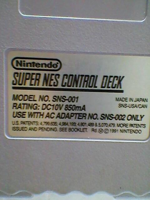 Konsol Jadul Super Nintendo(SNES)