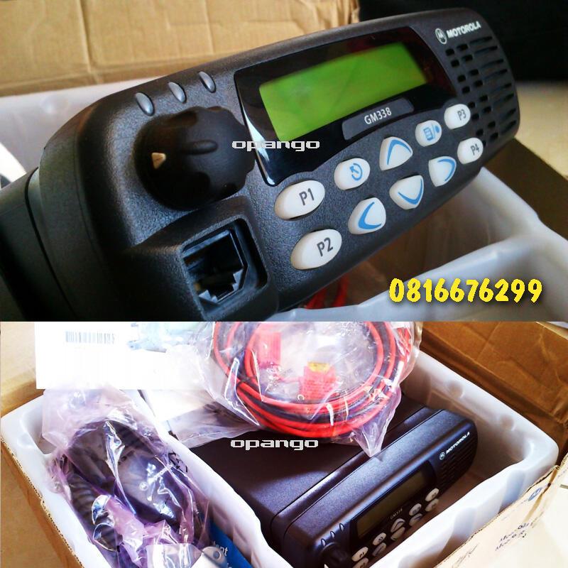 radio komunikasi rig motorolla GM 338