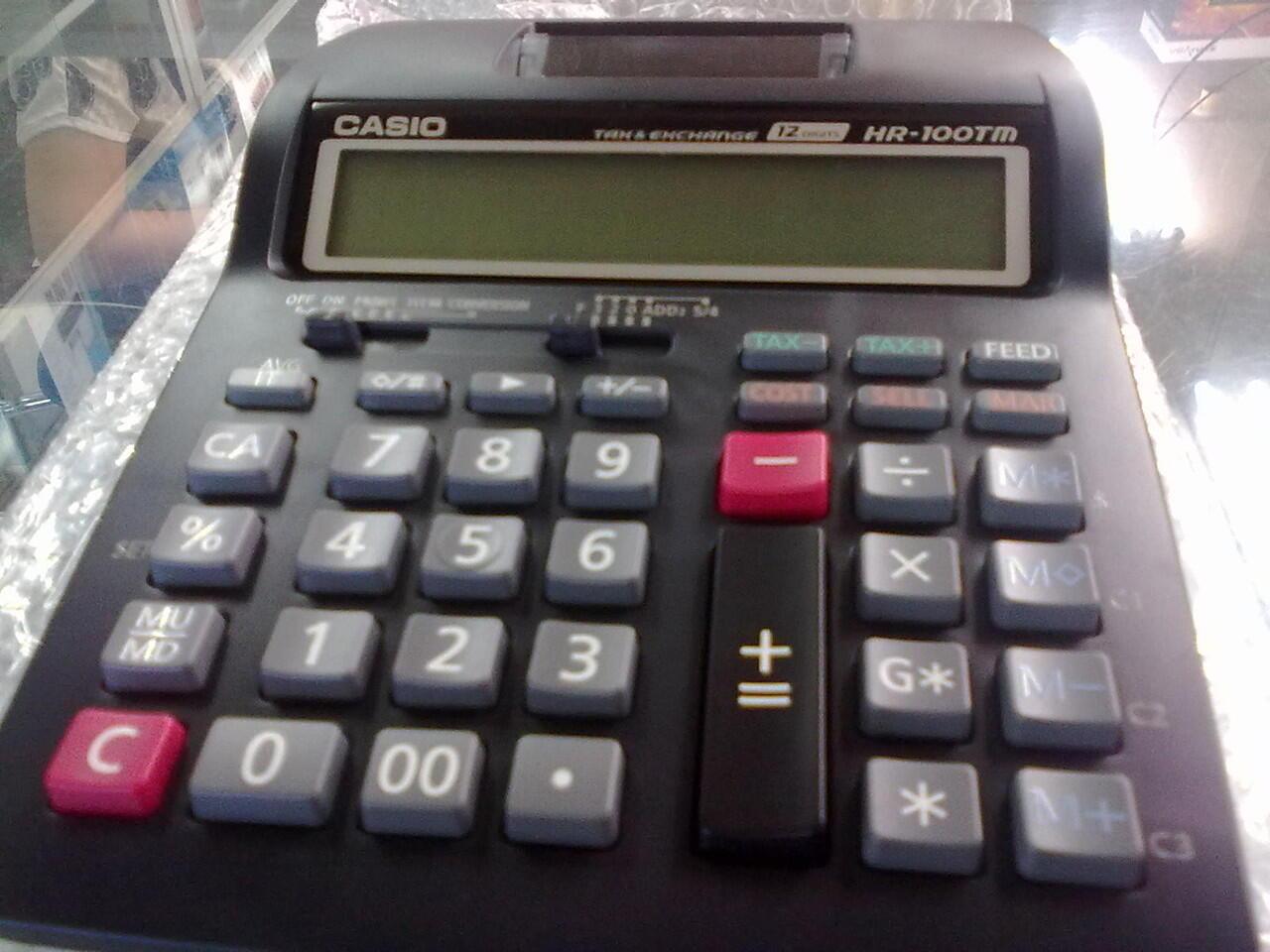 Casio Kalkulator Printer Dr 240tm Putih. Cajas Registradoras Multipapel