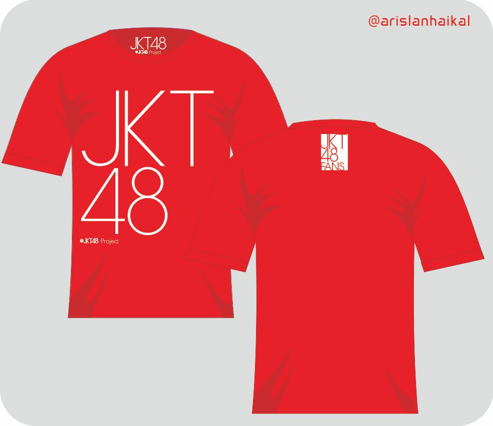 Desain t shirt jkt48 - Jkt48 T Shirt Design Aspal