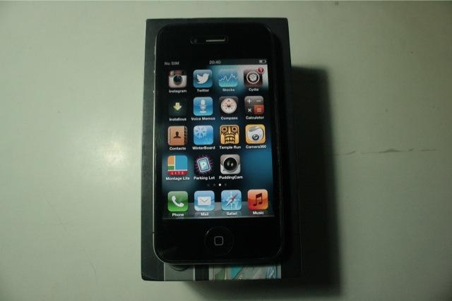 iPhone 4g 32 GB Black FU Mulus
