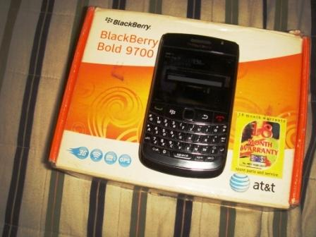 Dijual Blackberry Bold 9700 Black