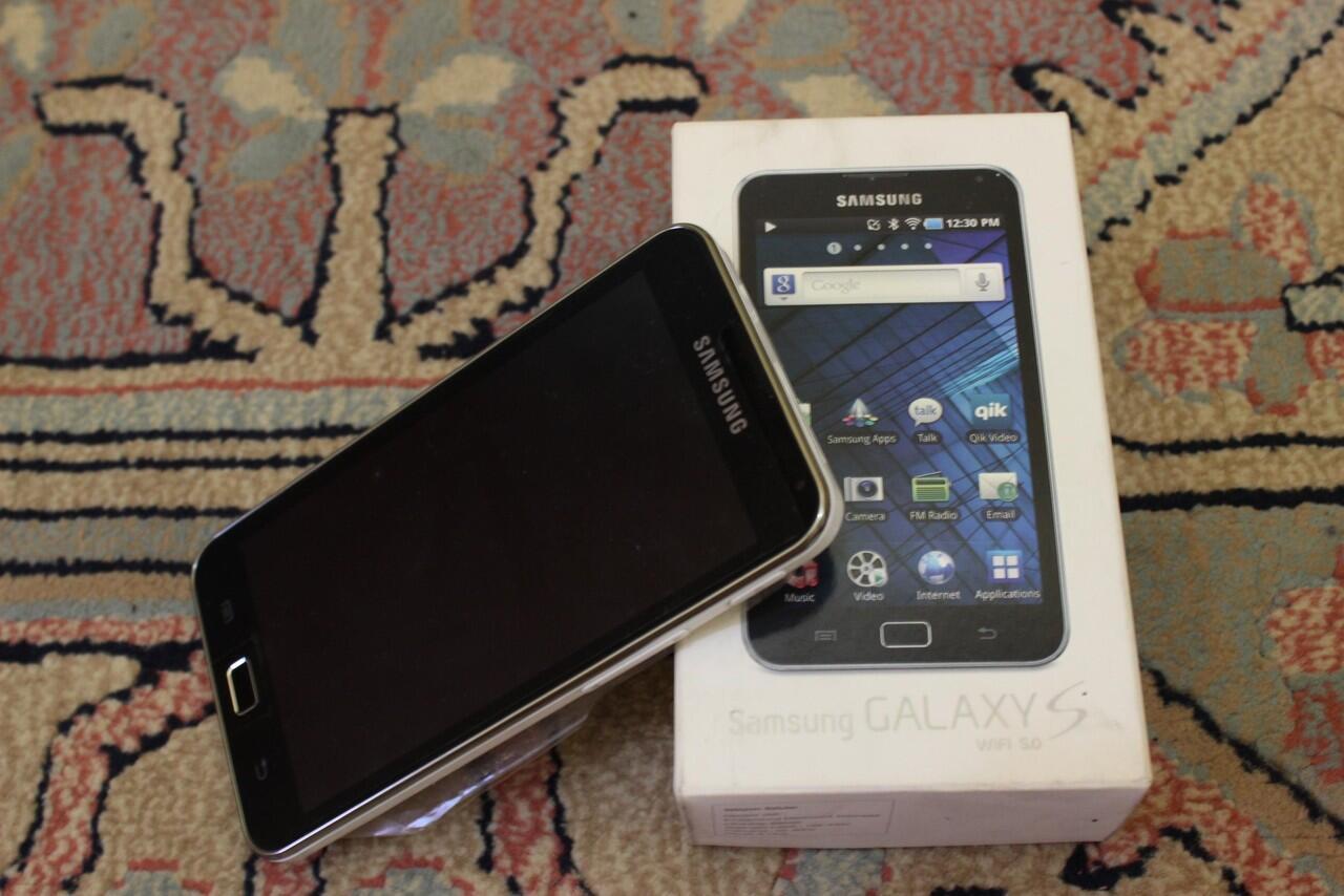 Jual Samsung Galaxy S Wifi - 5 inch