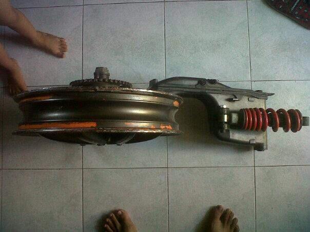 PRO ARM NSR 150 SP ( SURABAYA )