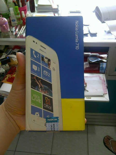 REPOST LUMIA 710 WHITE 1.700.000
