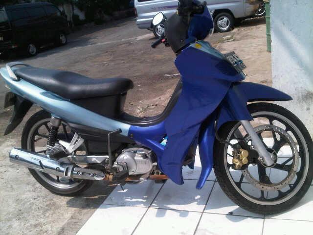 yamaha jupiter z 2004 biru