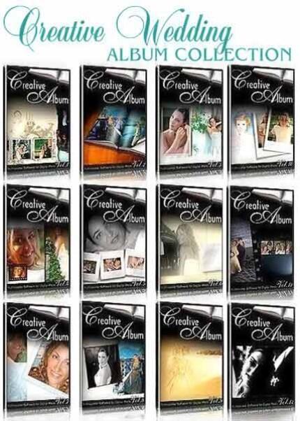 >>::Photoshop Creative Album Wedding 12 Volume & 100 Best Photoshop Plugins::<<