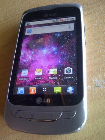 LG PHOENYX GSM KAYAK LG OPTIMUS MURAH