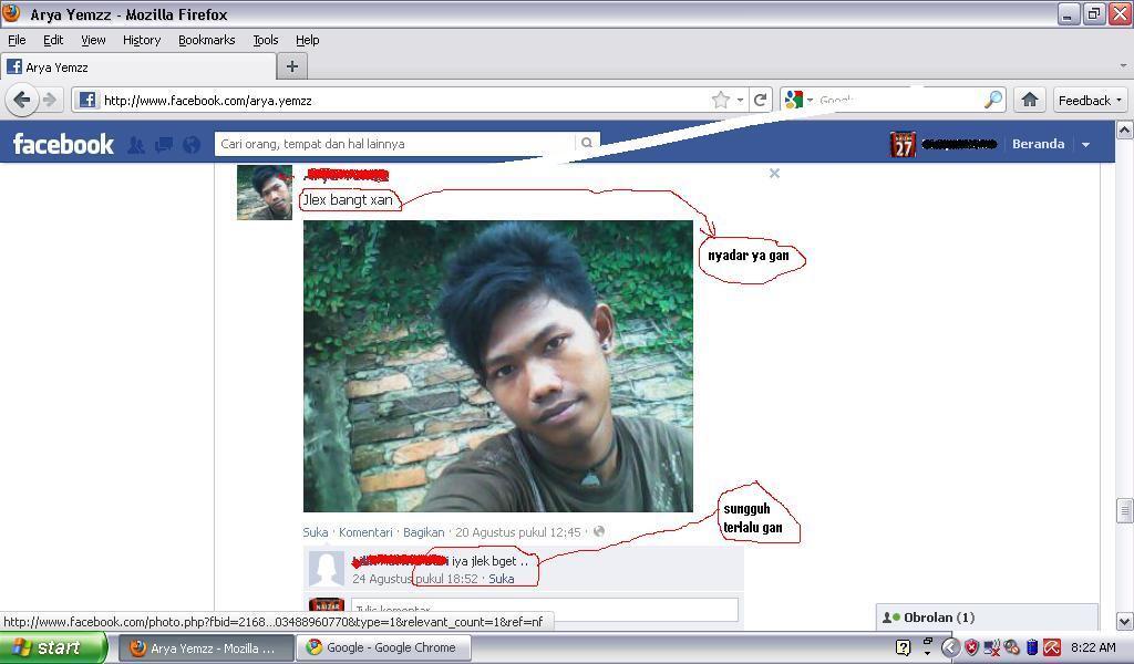 "anak alay yg lgi marah"" di FB tampan gan anknya"