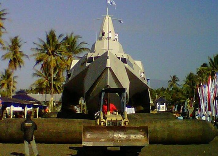 KCR Trimaran TNI AL