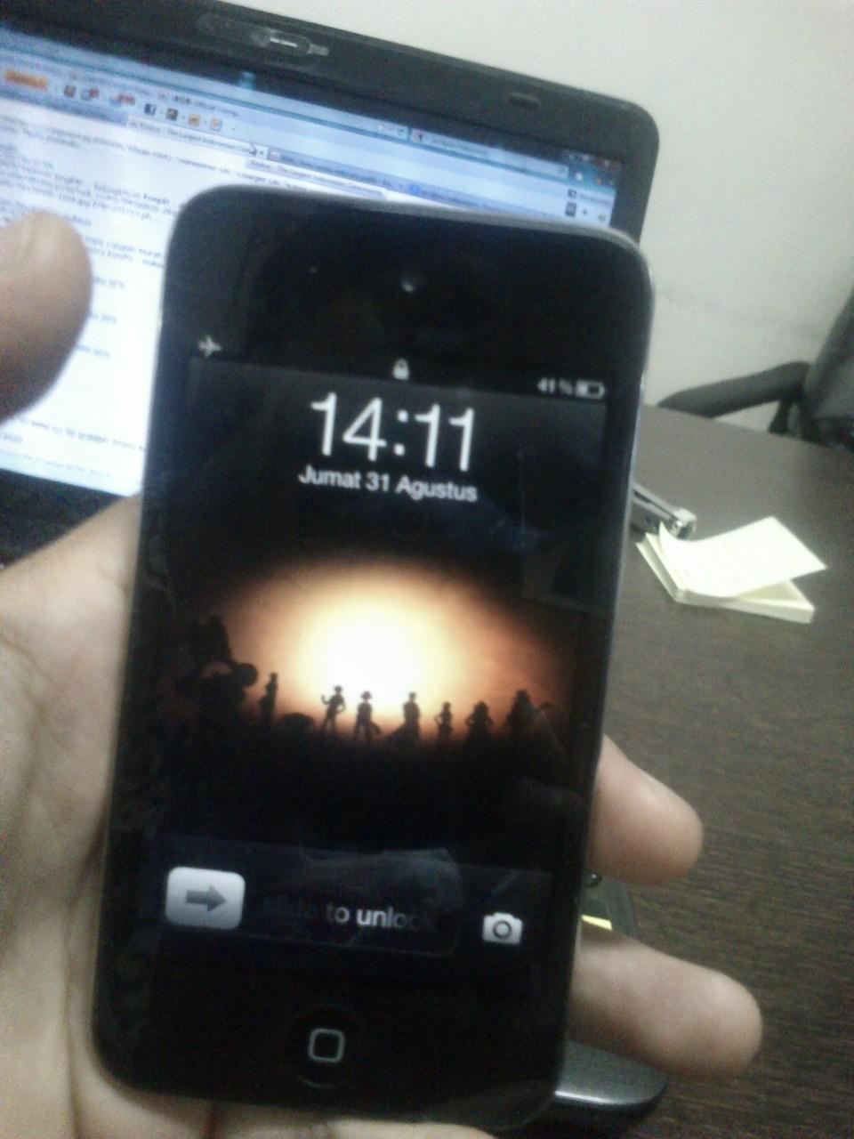 Jual Ipod 4th 32 gb murah full aplikasi