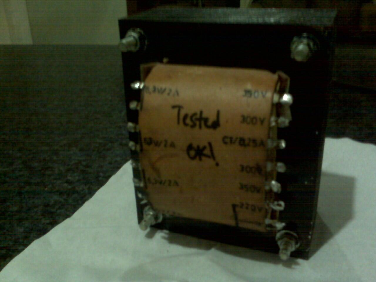 Trafo untuk Power Amplifier Tabung