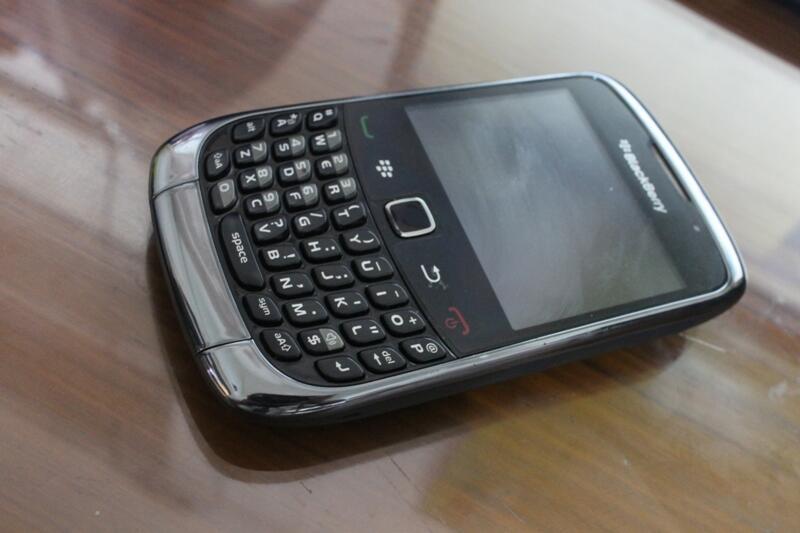 Jual Blackberry Gemini 3G 9300 Bandung