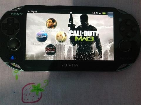 WTS PS VITA 3G+WIFI Value Pack + Uncharted 3 + Gravity Rush