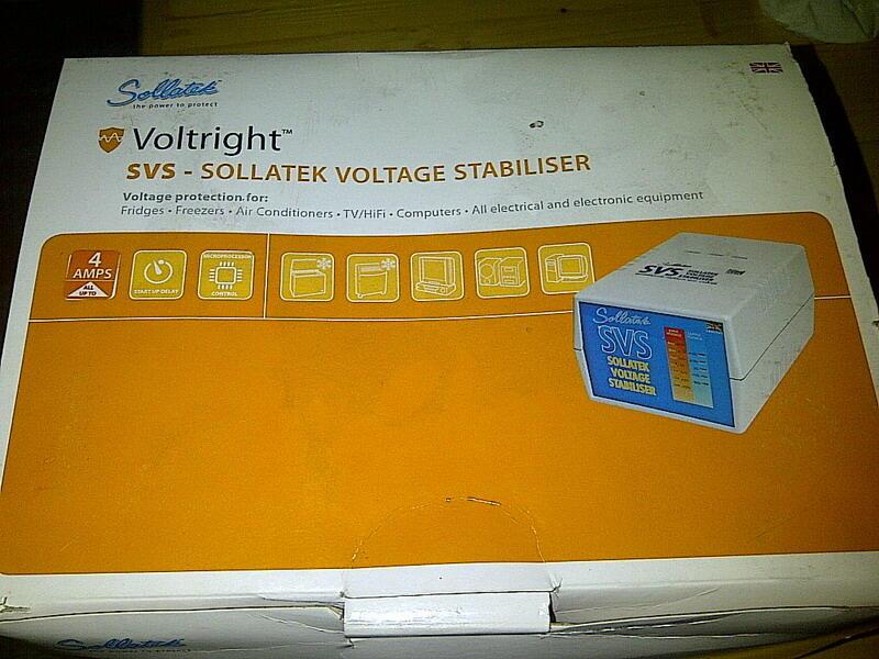 SOLLATEK SVS Voltright Stabilizer