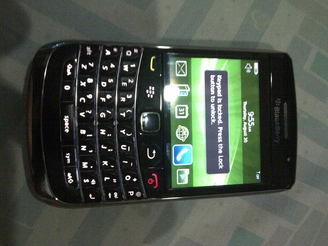 blackberry onyx1 9700 fullset black murah surabaya